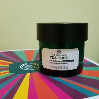 The Body Shop - Tea Tree Night Mask