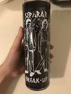 Break up spell candles