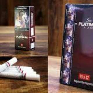 Rokok Herbal SIN platinum Filter