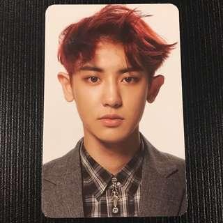 EXO Chanyeol Overdose Photocard