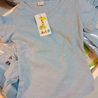 Kids blue colour t-shirt