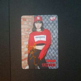 Twice MOMO Yes Card