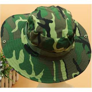 Camo Fishing Hat