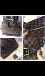 Authentic LV Alma pm