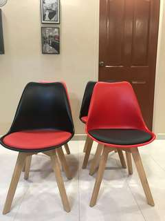 Tulips Dining Chair set of four