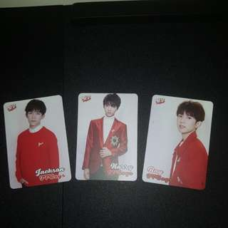 tfboys yescard set