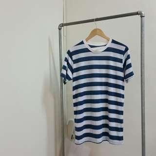 🚚 韓國帶回 海軍藍白條紋上衣
