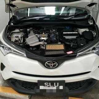 Toyota C-HR 1.2 Turbo Hurricane Filter
