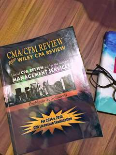 CMA/CFM Review plus Wiley CPA Review