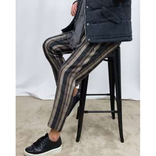 Korean Style Premium 3 Color Banding Pants