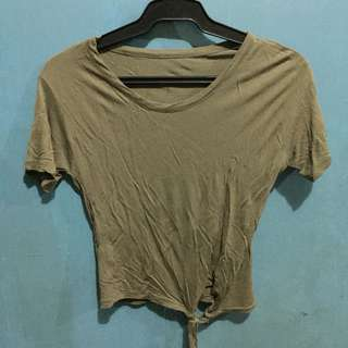 Knot Cropped Top