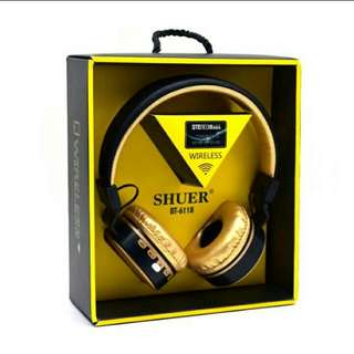 Stereo Subwoofer Wireless Bluetooth Headset