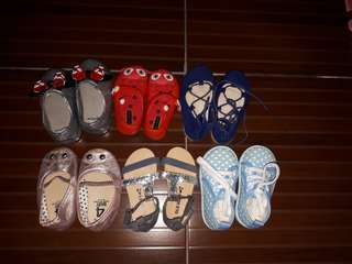 Take all shoes and sandals