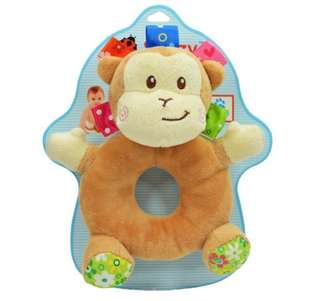 *In stock* Monkey Baby Rattle