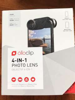Olloclip 4-in-1 photoclip for IPhone 6 and 6plus or 6S or 6S plus
