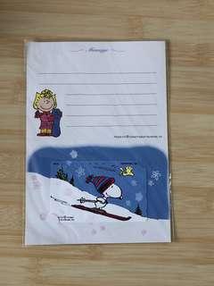 珍藏多年!日本Snoopy 「滑雪篇」電話咭