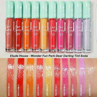 Etude House Wonder Fun Park Dear Darling Soda Tint LIMITED