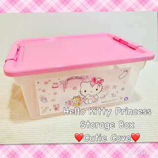 *NEW IN IN SG* Hello Kitty Princess Storage Box