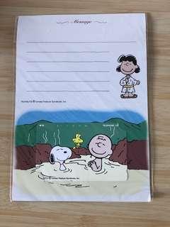 珍藏多年!日本Snoopy 「溫泉篇」電話咭
