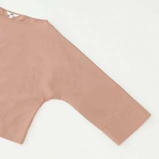 UNIQLO Extra Fine Cotton 3/4 Sleeve T Blouse