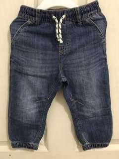 H&M  denim jeans for 12-18 mos baby boy