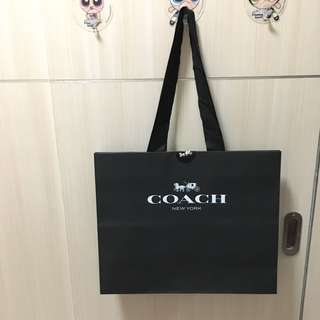 COACH LARGE PAPERBAG