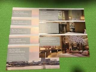 The far card classic membership hotel vouchers