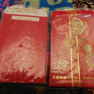 2 loose packs Citigroup Red Packets