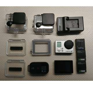 GOPRO Hero 3+ Black with LCD Touch BacPac