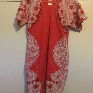 Alice McCall size 8 embroidered dress
