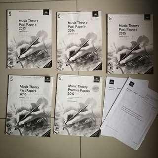 ABRSM Music Theory Grade 5 Past Year