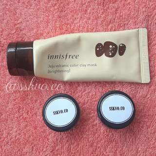 INNISFREE JEJU VOLCANIS COLOR CLAY MASK [SHARE IN JAR]