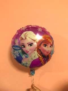 Frozen Helium Balloon