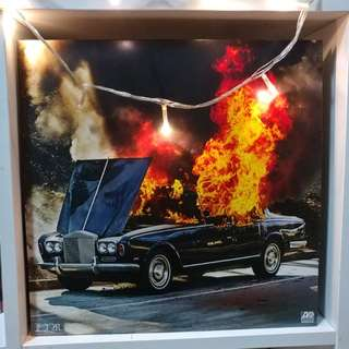 (SOLD)PORTUGAL THE MAN - WOODSTOCK