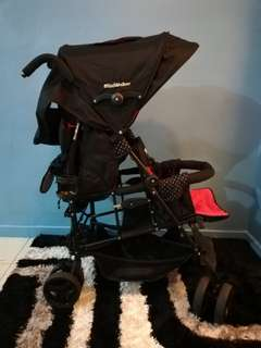 Mini walker twin tandem