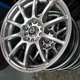 "16"" Car rim BRAND NEW Taiwan made (Price reduced from S$500)"