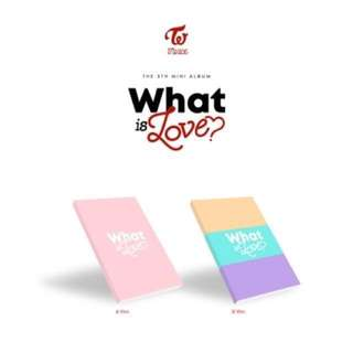TWICE 5th Mini Album What Is Love? (Ver A / B)