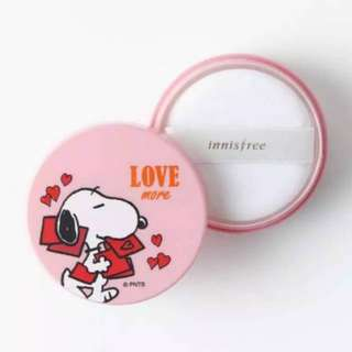 Innisfree No Sebum Mineral Powder X Snoopy ( Limited Edition)