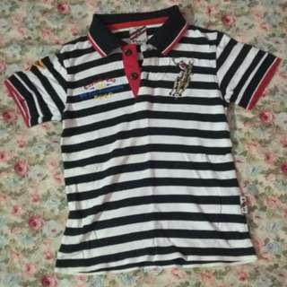 Authentic Polo Boy Shirt - Stripe