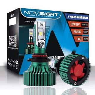 H7 NOVSIGHT High Lumen & Qulity LED Headlight Light Bulbs White 60W 16000LM - CREE LED Chips
