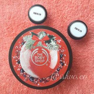 THE BODY SHOP CRANBERRY BODY BUTTER [SHARE IN JAR]