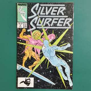 Silver Surfer No.3 comic