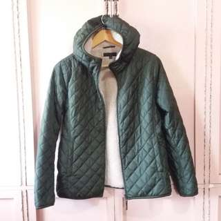 Uniqlo Quilted Wibter Jacket w/ Hood