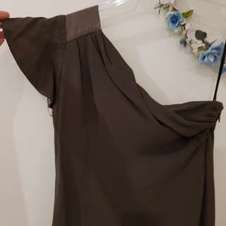 Kookai one-shoulder dress