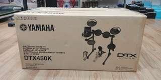 Drum Elektrik Yamaha DTX 450K ( Kredit )