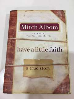 "Mitch Albom - ""Have A Little Faith"""
