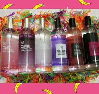 The bodyshop parfume