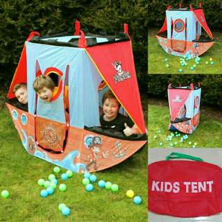 Pirate ship play tent (kids play tent)
