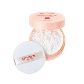 Skin food peach cotton multi finish powder