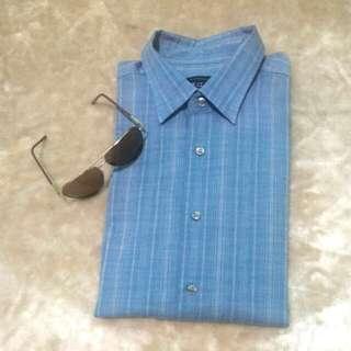 L👔 Authentic VanHeusen Short-Sleeve Shirt